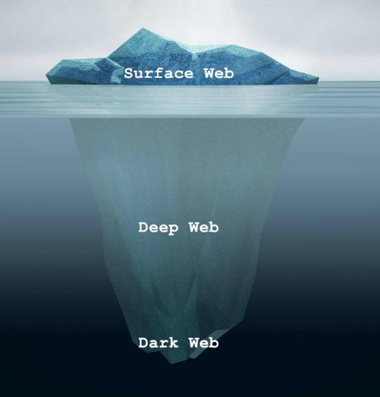 Um iceberg.