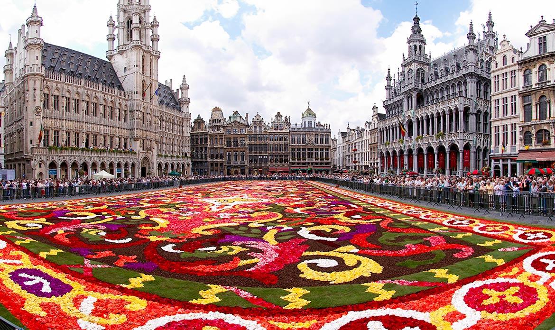Grand Place, em Bruxelas
