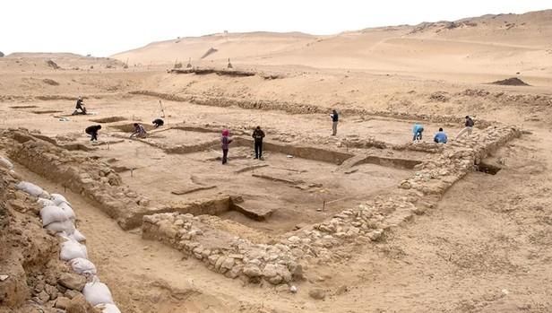 Ruínas no Egito