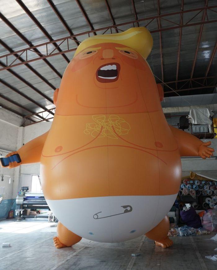 balão trump