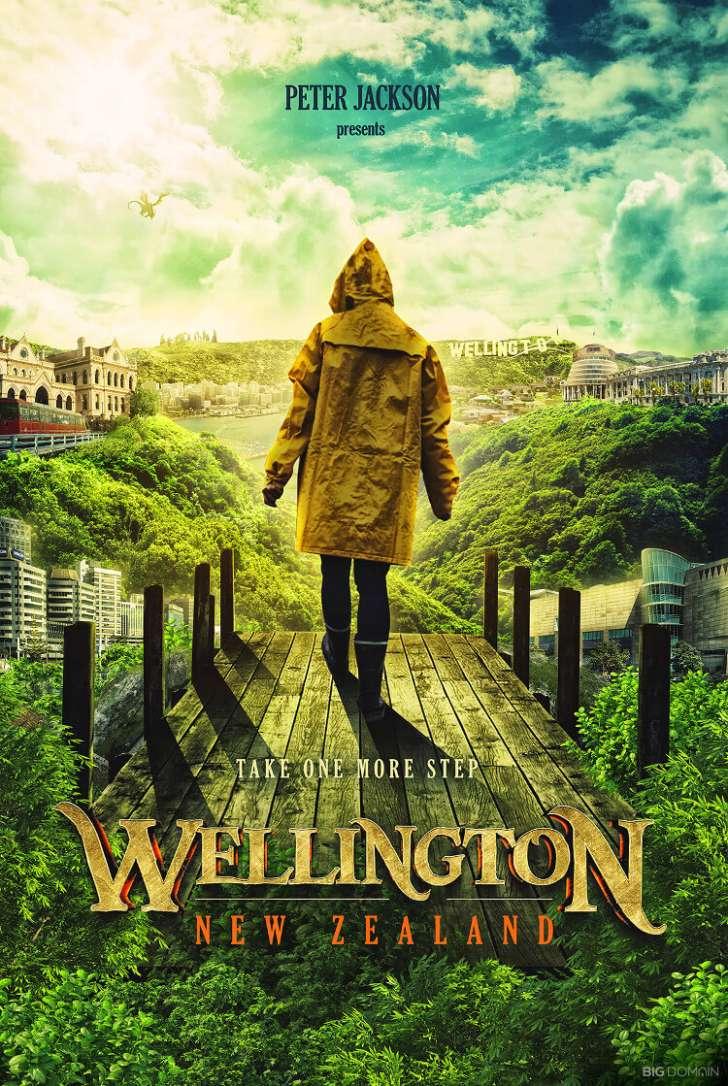 Wellington na Nova Zelândia