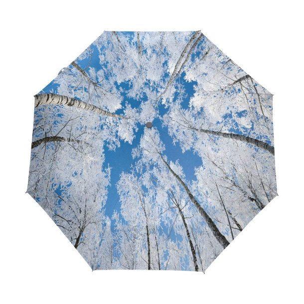 Guarda chuva com céu azul