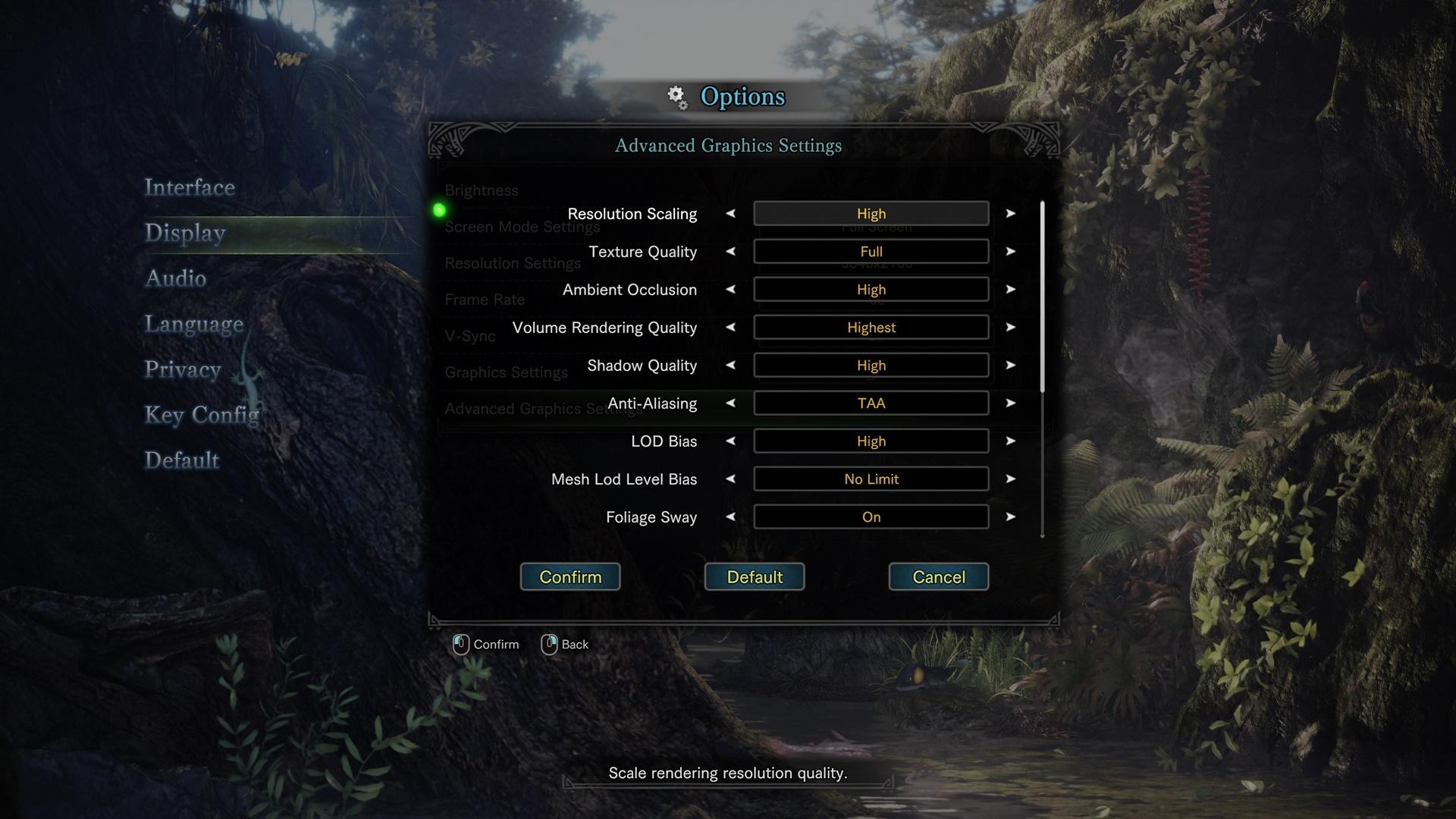 Monster Hunter World: Capcom revela as opções gráficas da versão PC