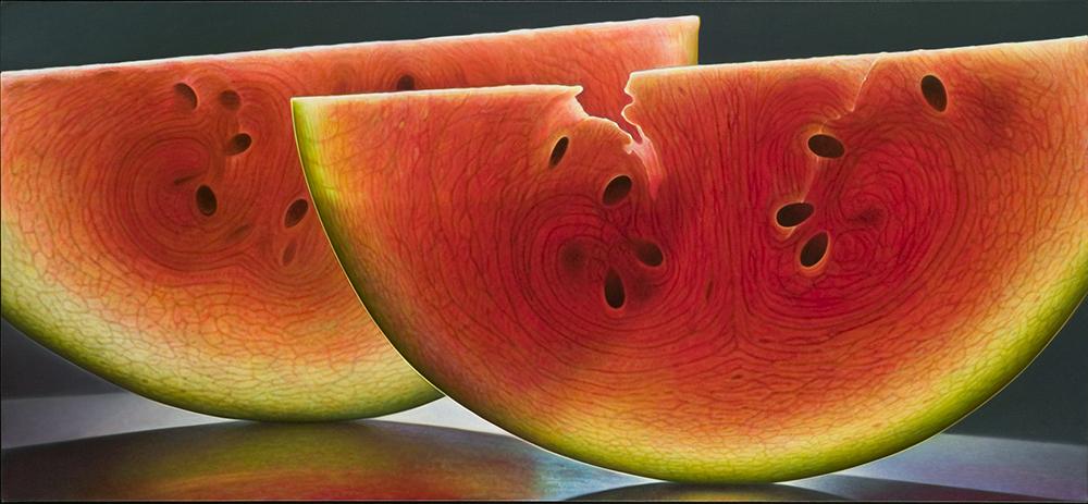 Pintura de melancias