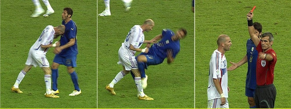 Cabeçada de Zidane na Copa