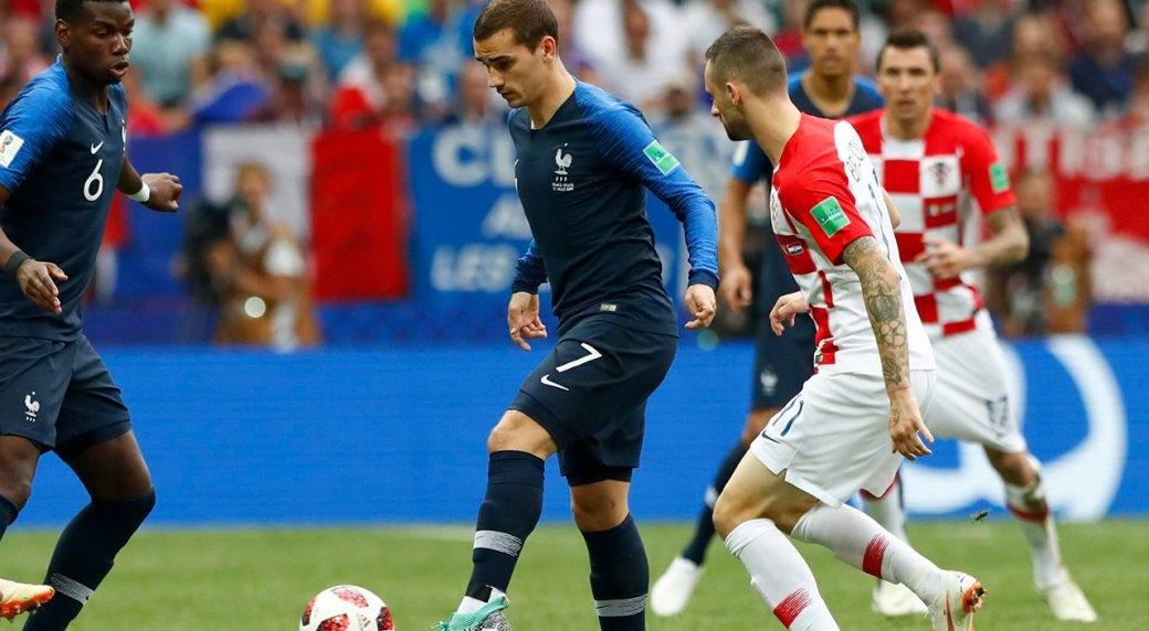 França e Croácia