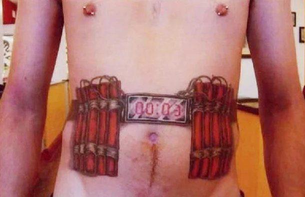 Tatuagem de mau gosto