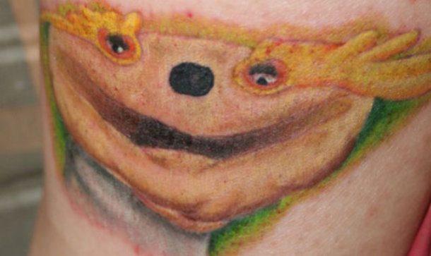 Tatuagem indescritível