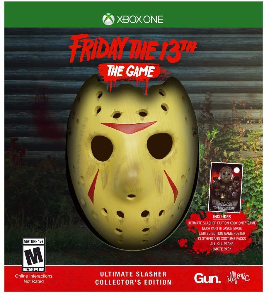 Friday the 13th: The Game ganhará edições especiais com máscara de Jason
