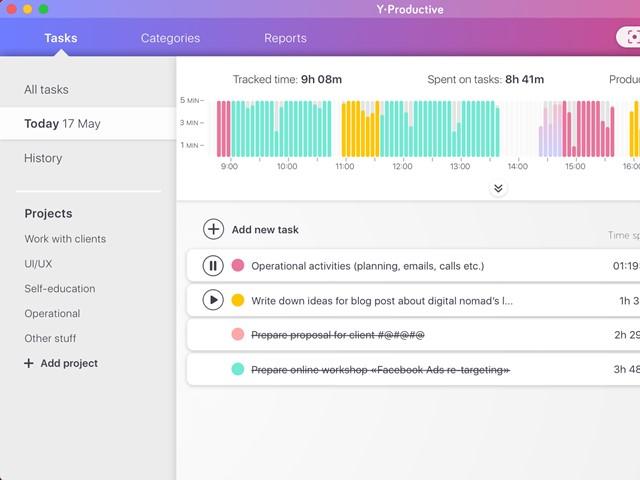Y-Productive - Imagem 1 do software