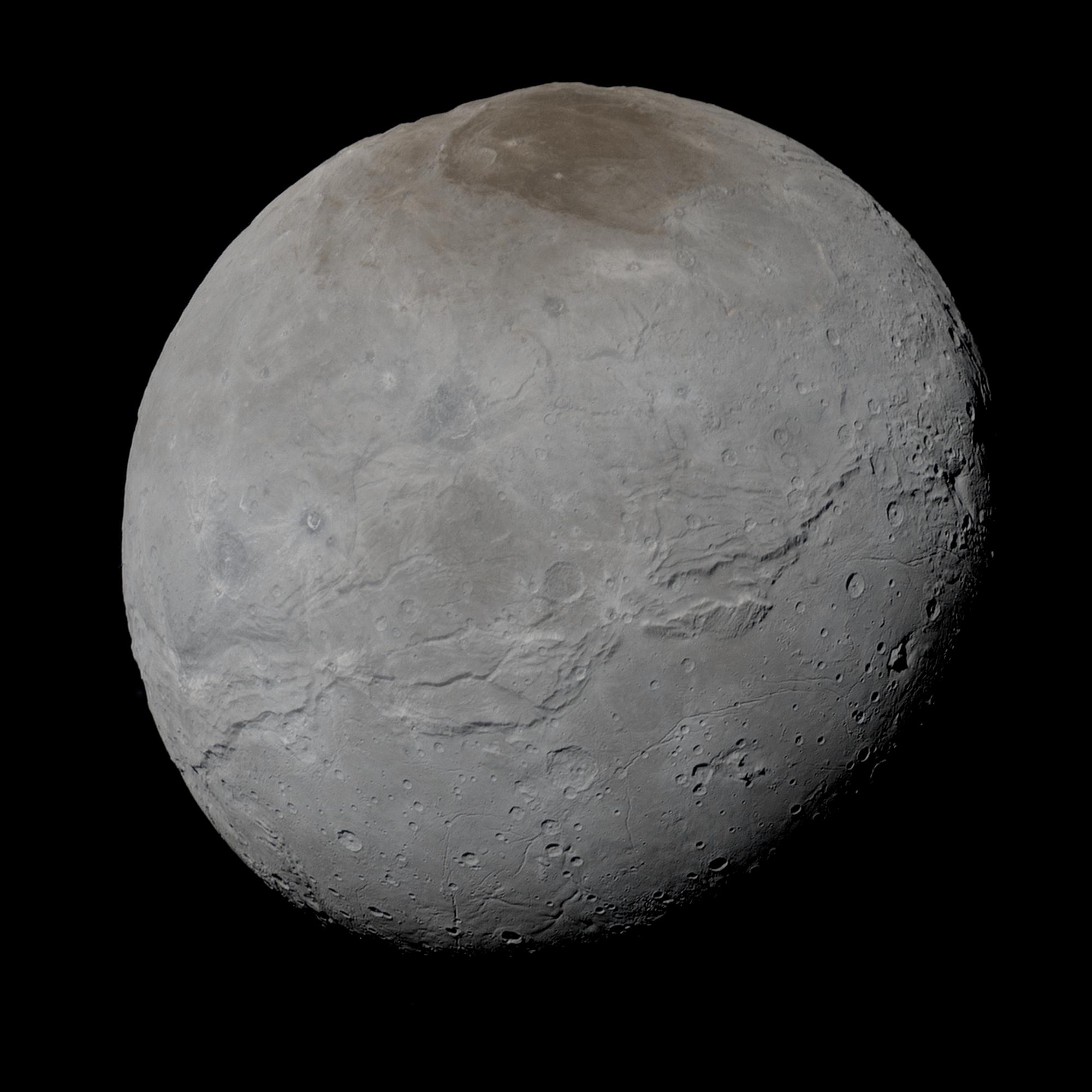 Charon lua de Plutão