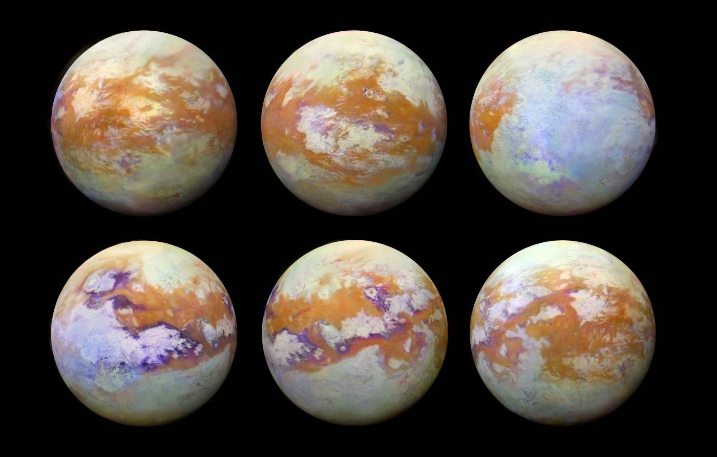 Titã lua de Saturno