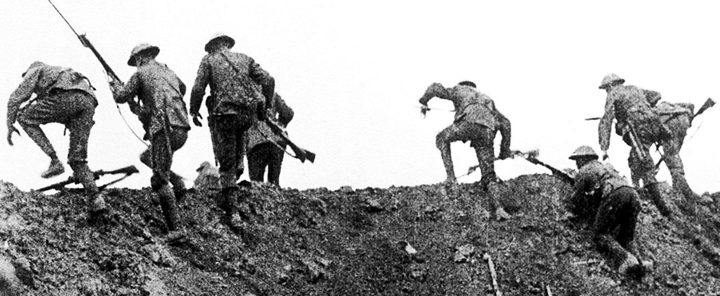 Soldados em batalha