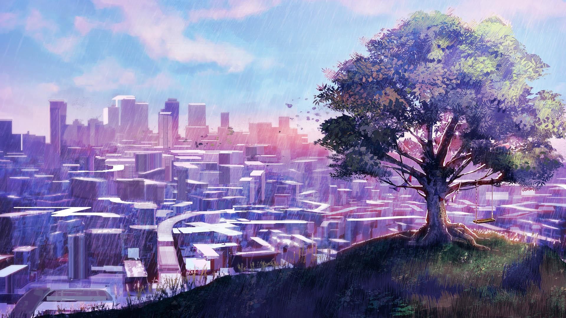 Anime Landscapes Theme - Imagem 1 do software