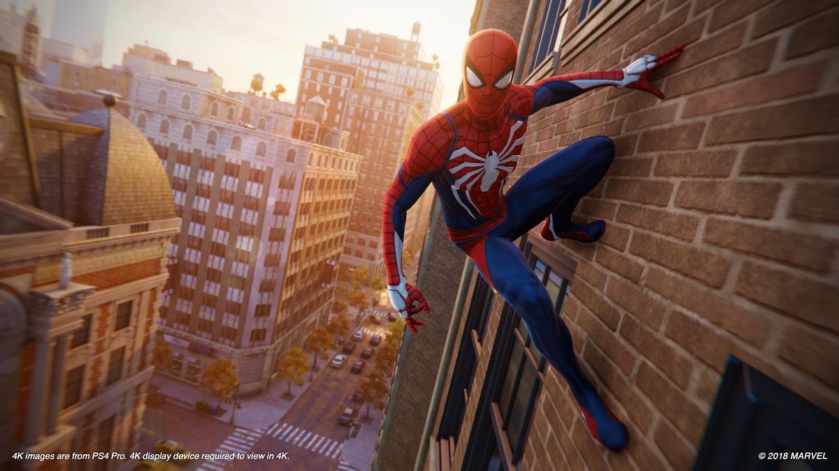 Spider-Man ganha novas imagens do herói em ação capturadas no PS4 Pro