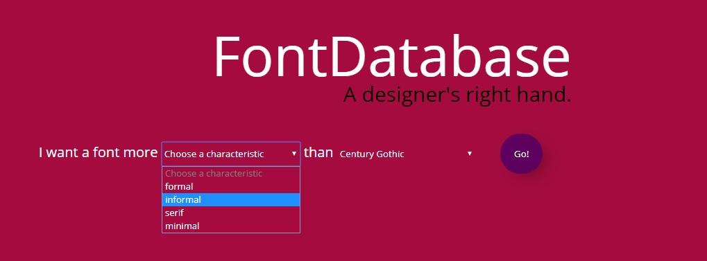 FontDatabase - Imagem 1 do software