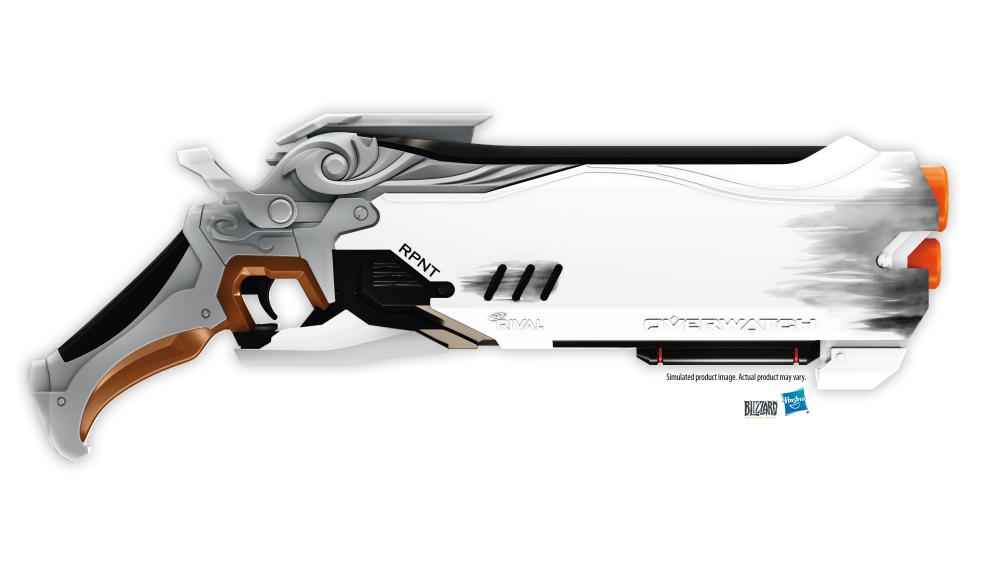 Armas D.Va e Reaper, de Overwatch, ganharão versões Nerf em 2019