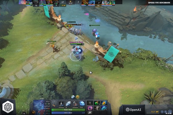IA founded by the company Elon Musk, crushes DotA