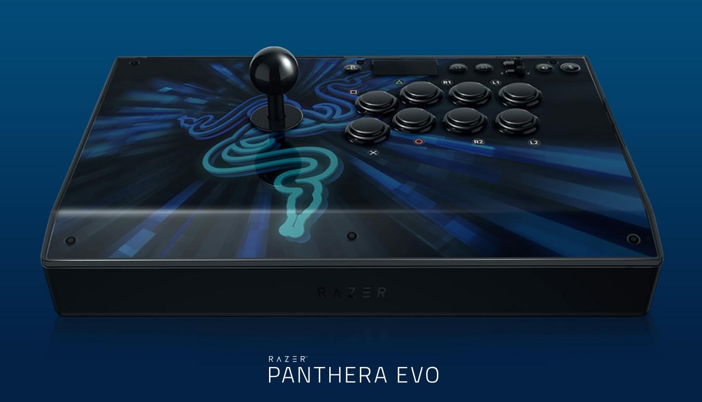 Razer anuncia Razer Panthera EVO, o novo controle arcade da empresa