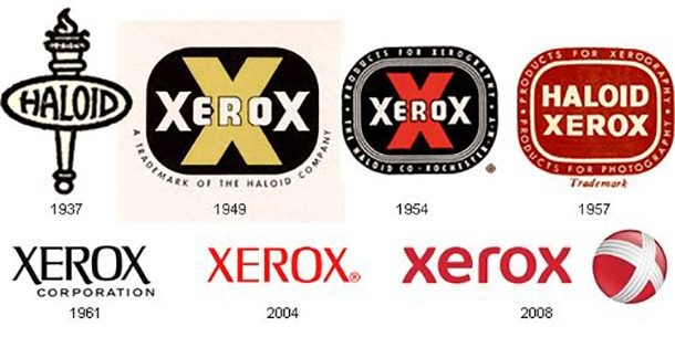 Logo da Xerox