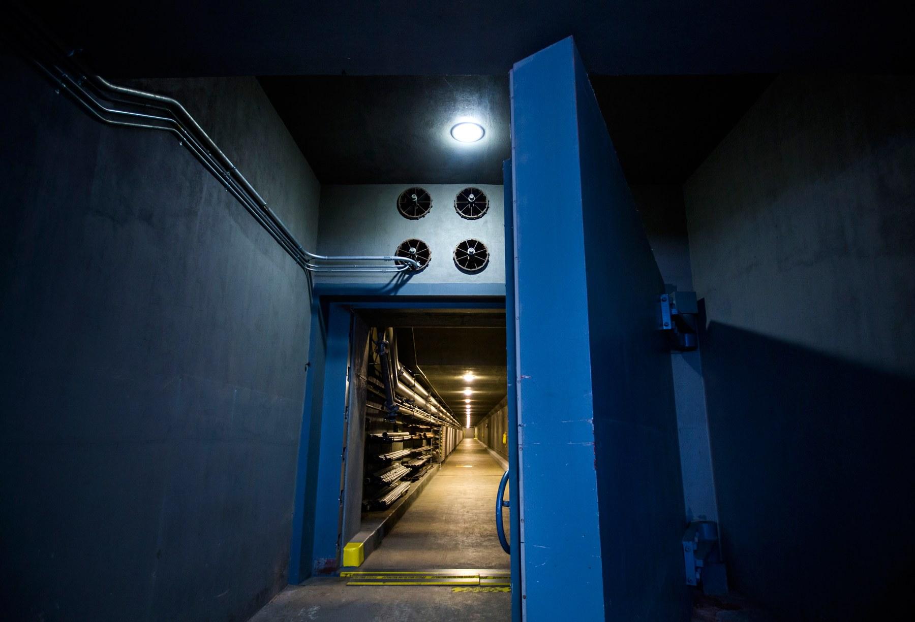 Porta de bunker