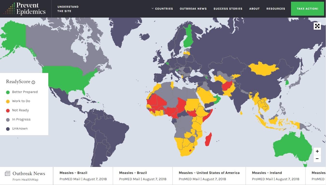 Prevent Epidemics - Imagem 1 do software
