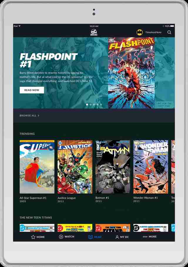 07215510788192 - DC Universe: tudo o que sabemos sobre o serviço de streaming