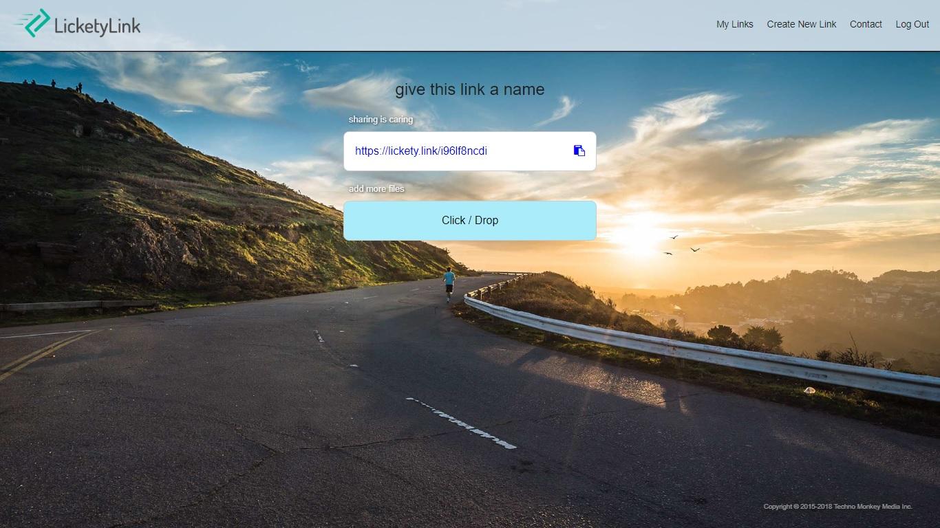 LicketyLink - Imagem 1 do software