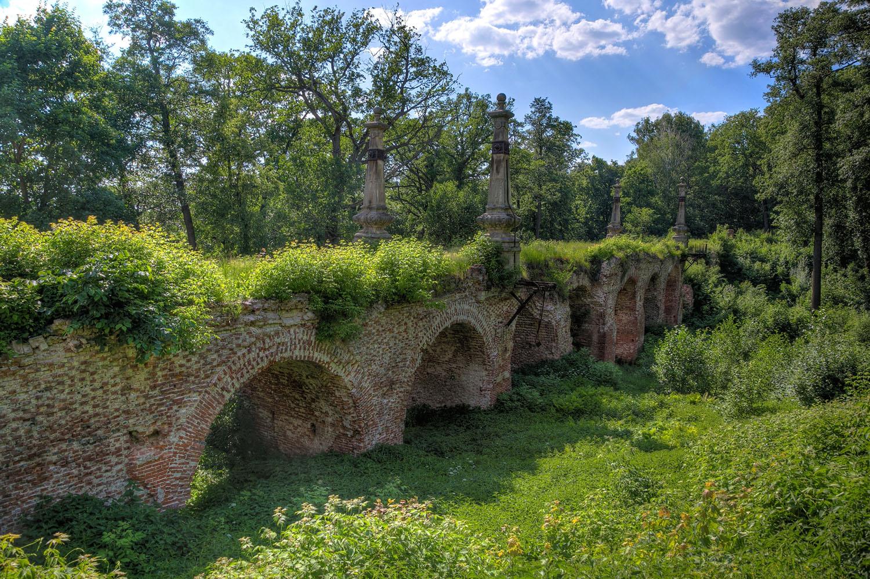 Antiga ponte de pedra