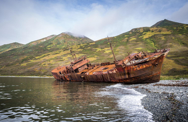Embarcação abandonada