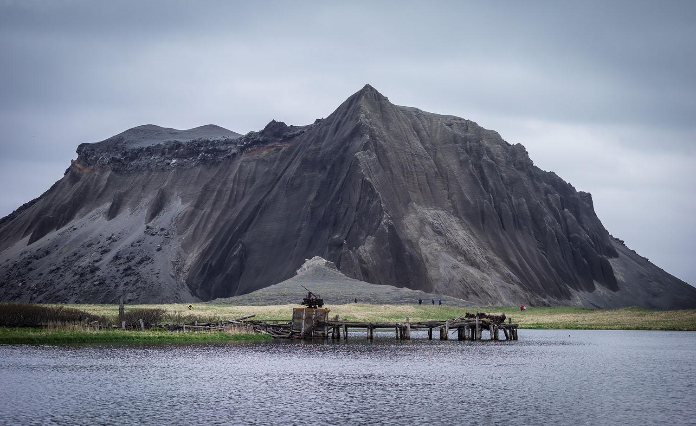 Ilha abandonada