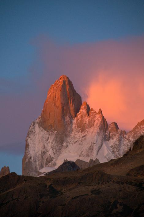 Montanha na Argentina