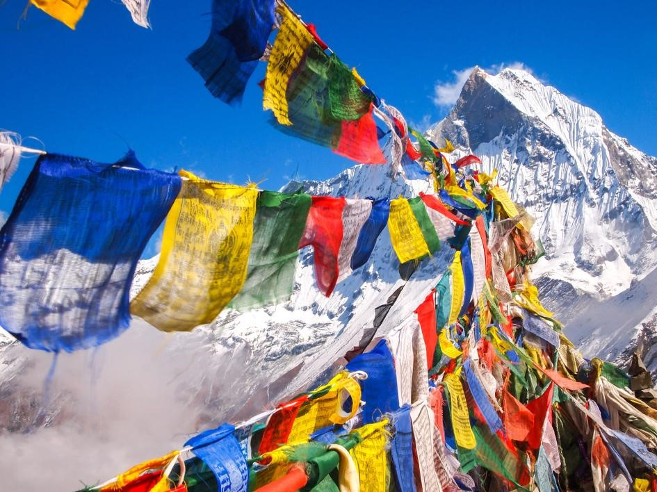 Montanha no Nepal