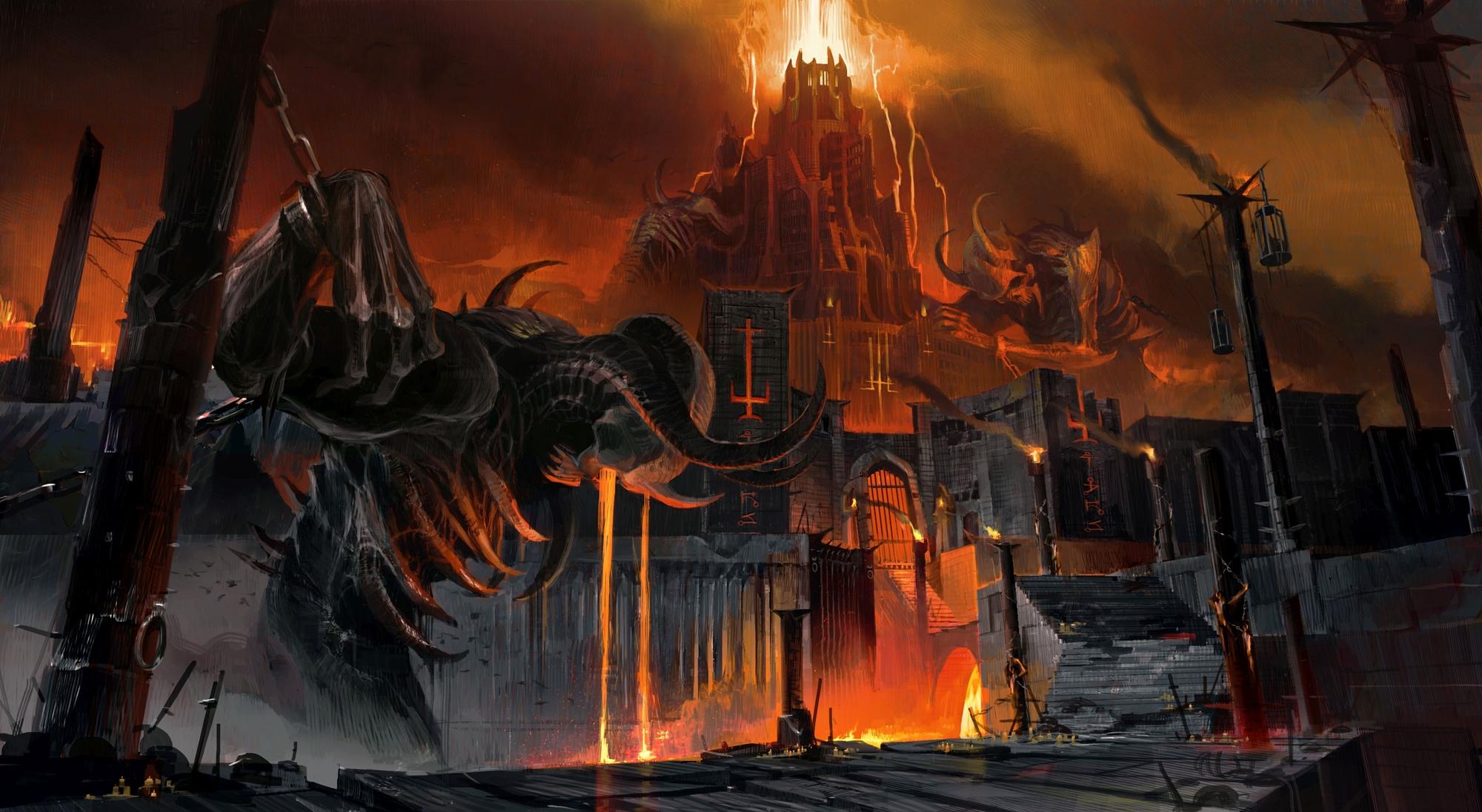 Diretamente do inferno, DOOM Eternal ganha imagens de cair o queixo