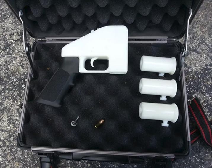 arma impressora 3d