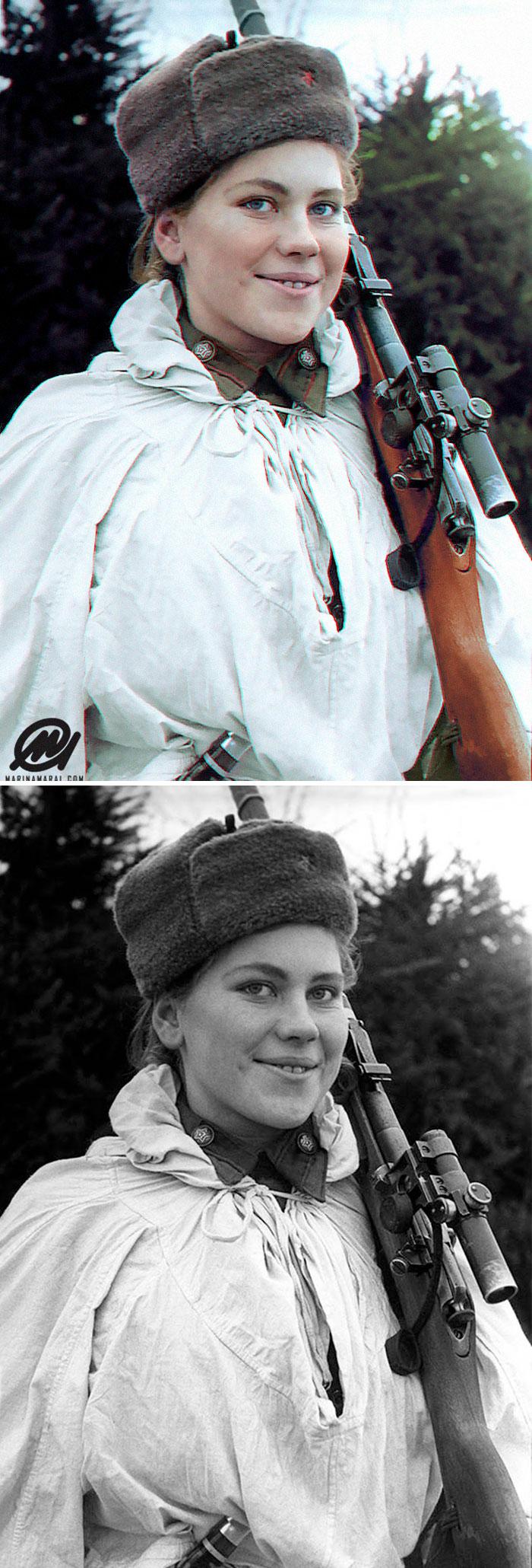 Jovem sniper russa