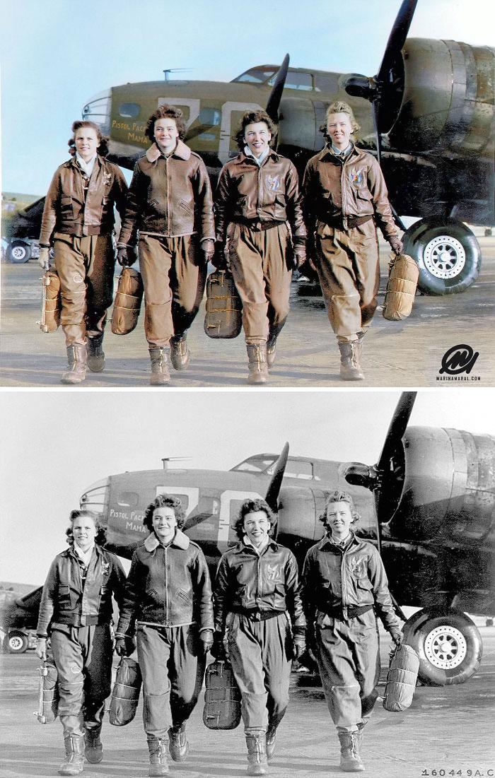 Pilotos femininas