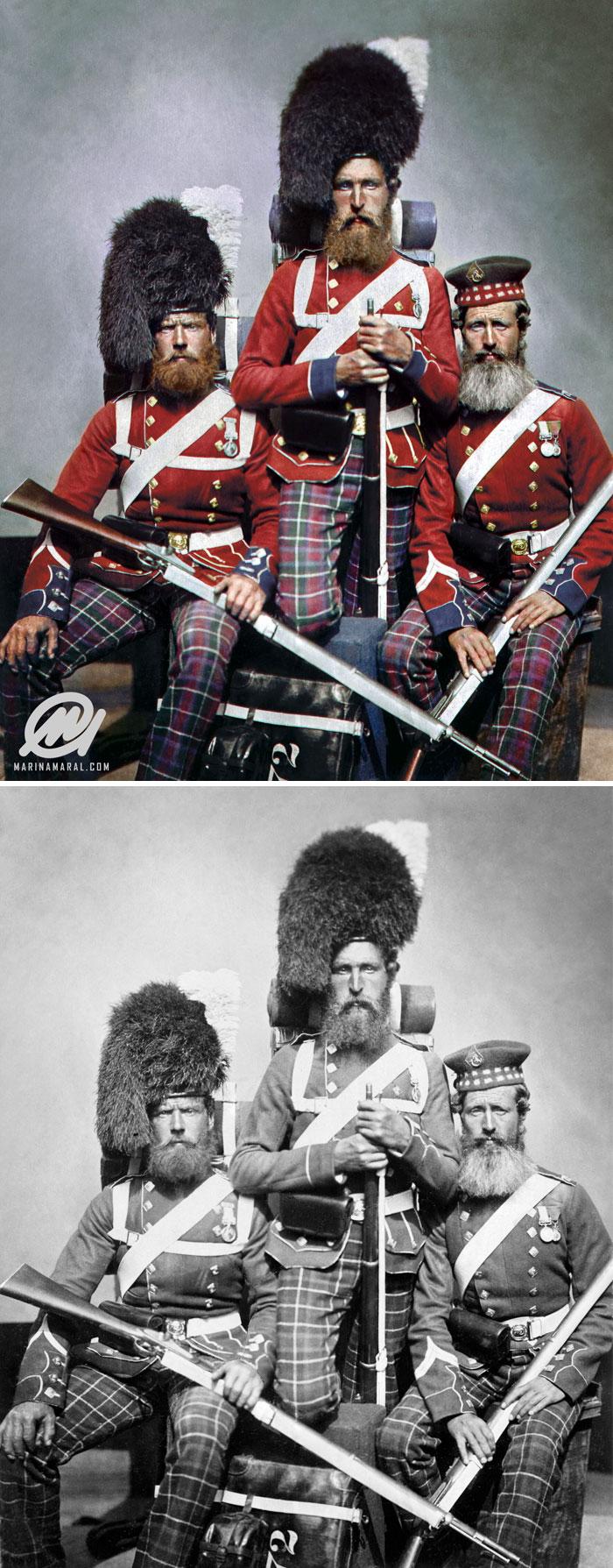 Militares escoceses
