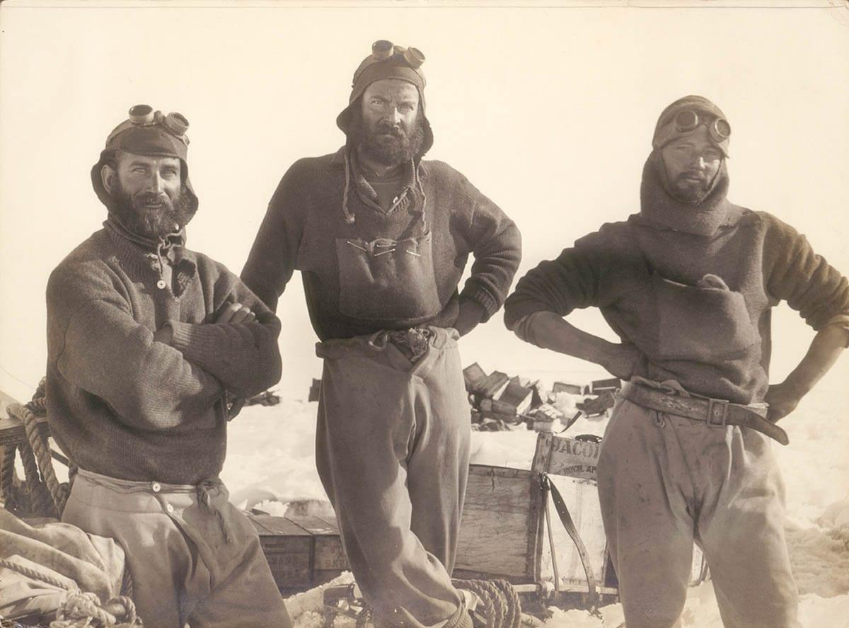 Trio de exploradores