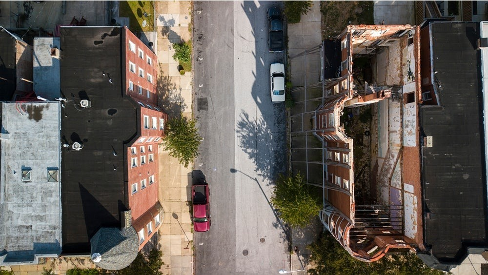 Cena urbana nos EUIA