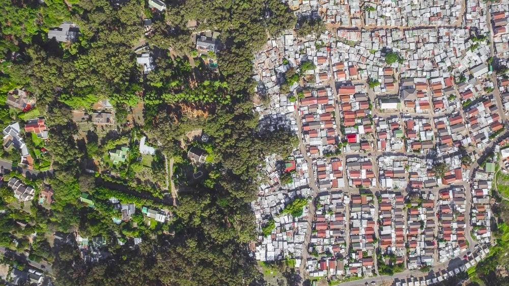 Favela na África