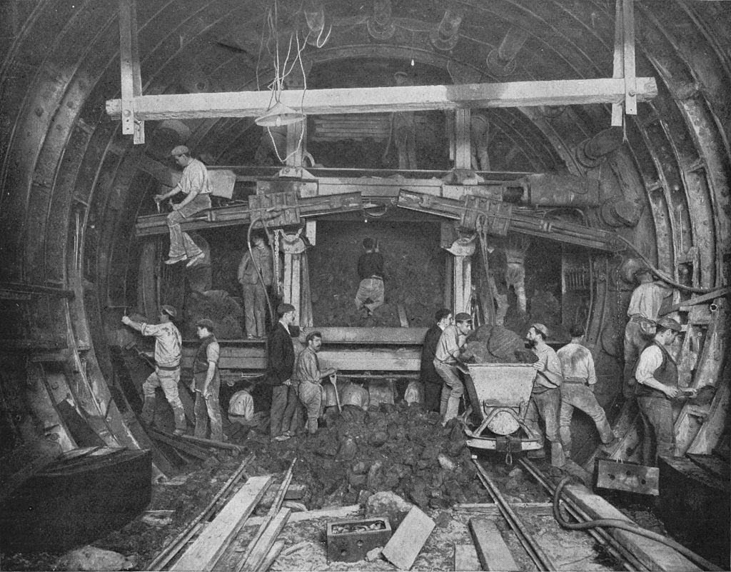 Túneis do metrô de Londres