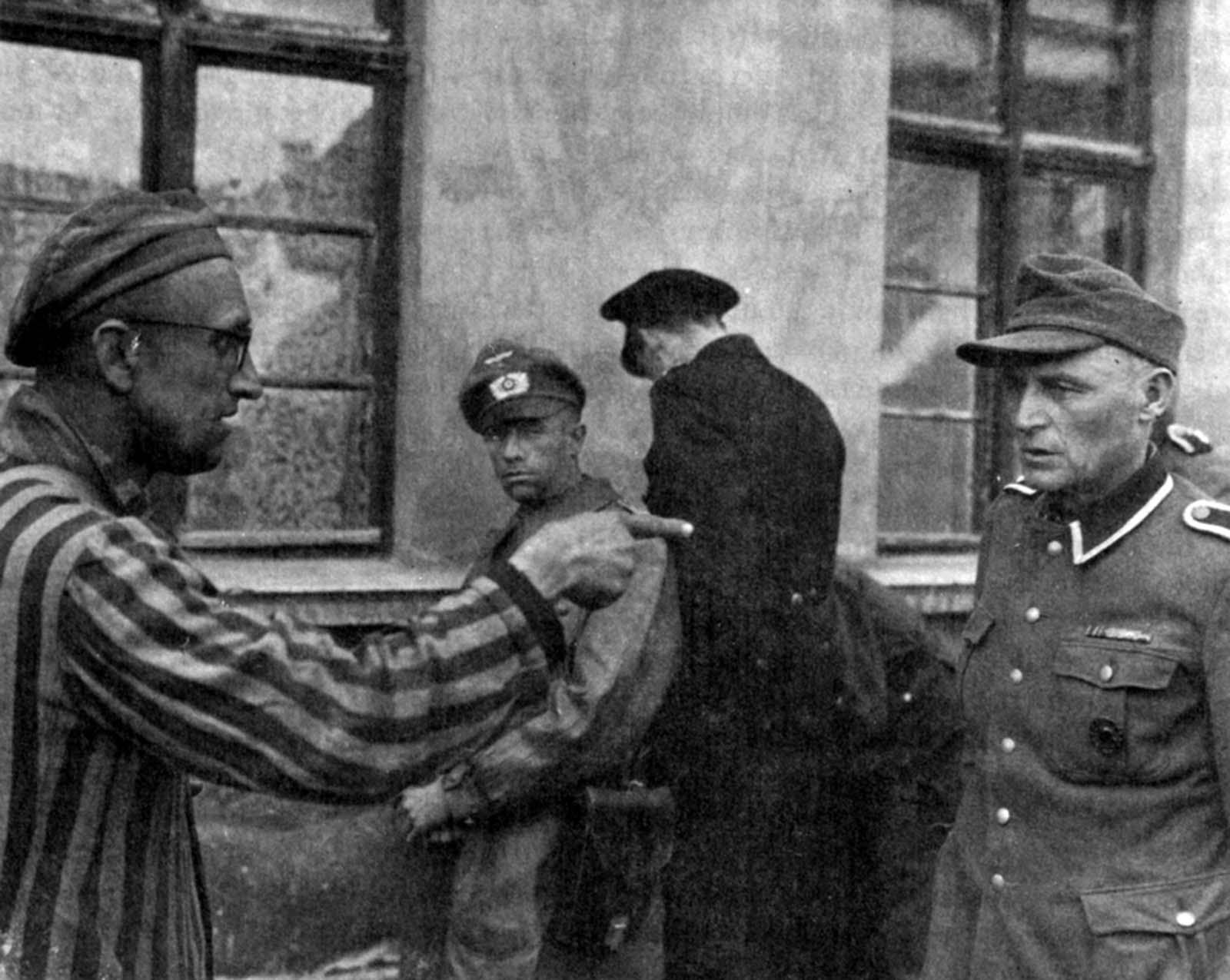 Prisioneiro contra nazista