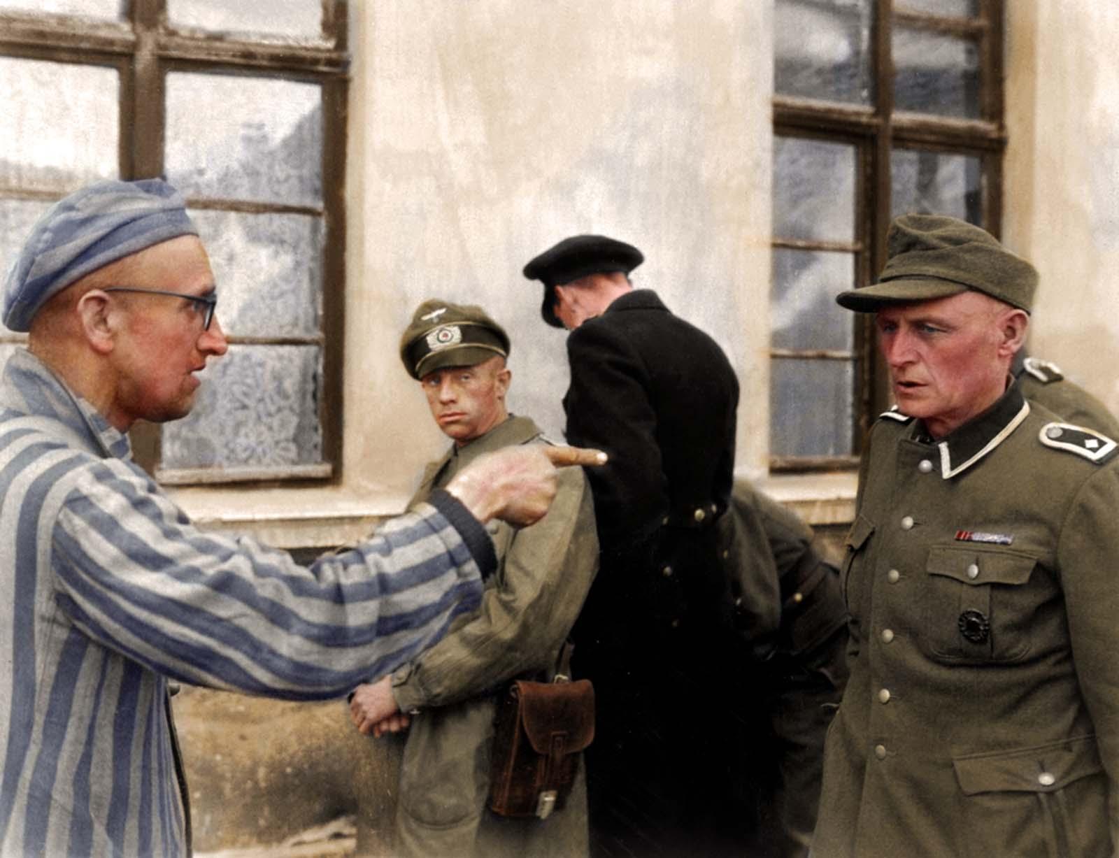 Prisioneiro e nazista