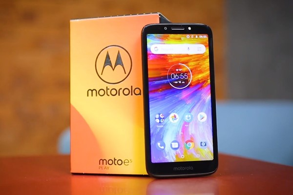 Motorola launches Moto E5 Play with Android Go in Brazil