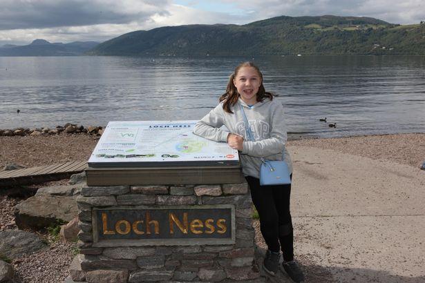 Turista no Lago Ness