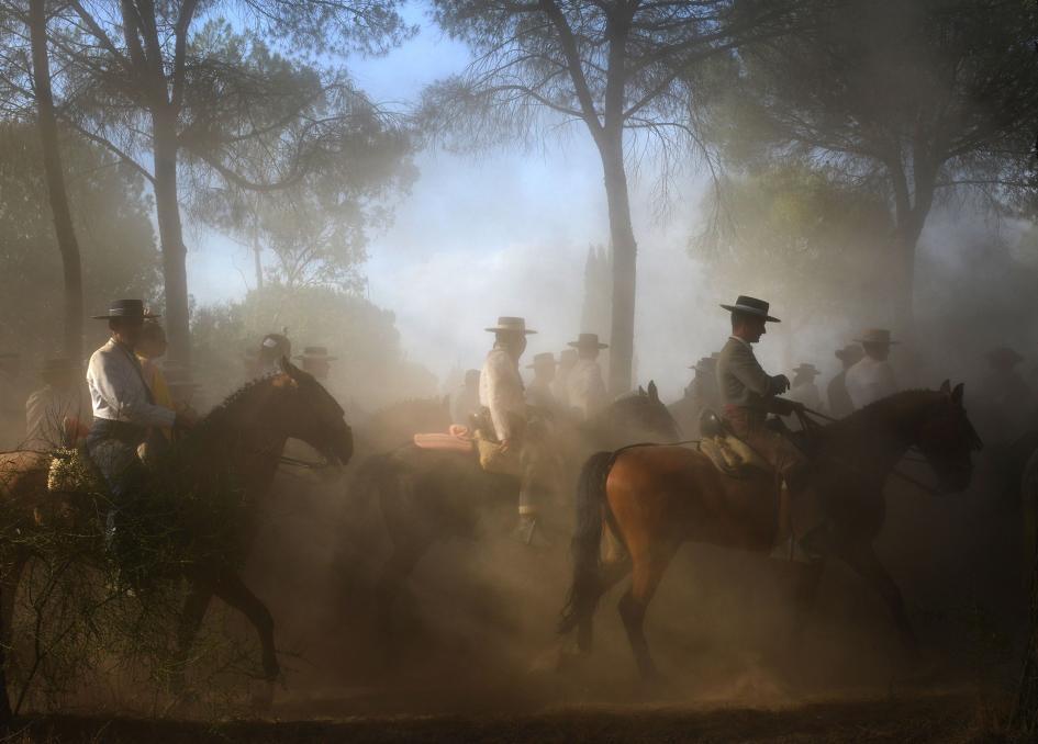 Cavaleiros na Espanha