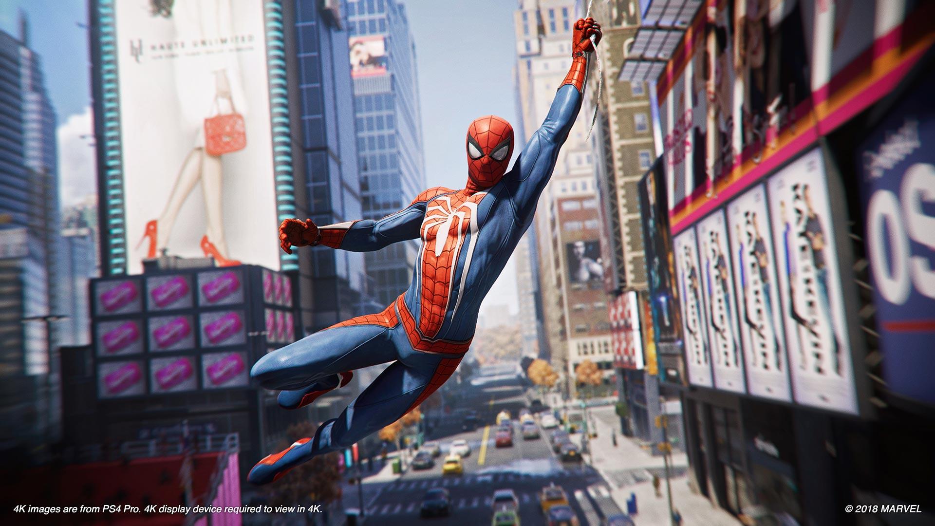 spider-man marvel's ps4