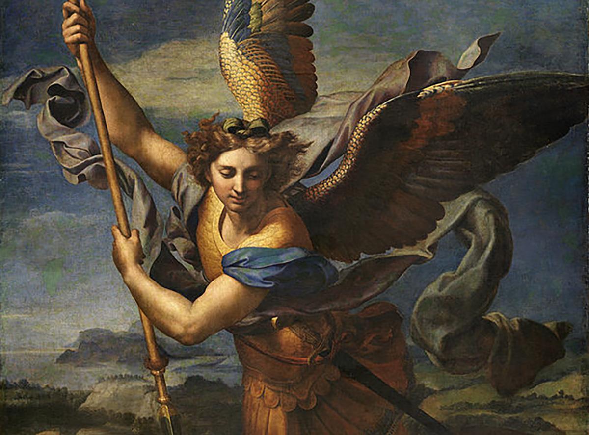 Representação de anjo