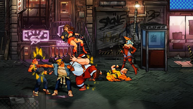 Streets of Rage 4 - Gameplay